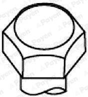 Culata Juego Pernos x10 para Mini R50//R53 1.6 S Cooper//Uno//obras gasolina FAI