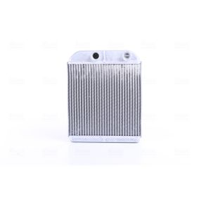 Wärmetauscher, Innenraumheizung Kühlrippen gelötet, Aluminium mit OEM-Nummer 3082447.8