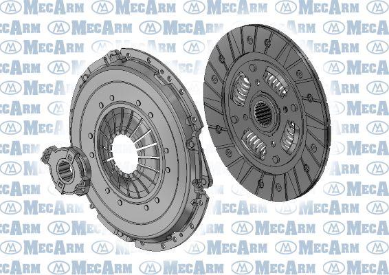 MECARM  MK9844 Kupplungssatz Ø: 180mm