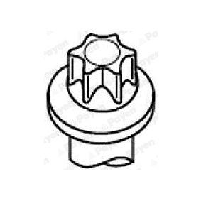 Комплект болтове на капака на клап. (на цилиндровата глава) HBS282 25 Хечбек (RF) 2.0 iDT Г.П. 2005