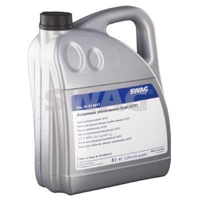 SWAG  10 93 0017 Hydraulic Oil Capacity: 5l, Red, Allison C3/C4, Dexron II D, Ford WSS-M2C138-CJ, Ford WSS-M2C166-H, Ford WSS-M2C185-A, Ford WSS-M2C186-A, MAN 339 V1, MAN 339 Z1, MB 236.1, MB 236.2, MB 236.5, MB 236.6, MB 236.7, Suffix A