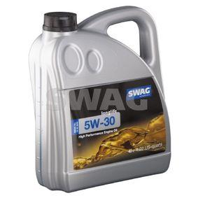SWAG Motoröl 15 93 2942 für AUDI A4 Avant (8E5, B6) 3.0 quattro ab Baujahr 09.2001, 220 PS