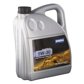 Motoröl für VW GOLF IV (1J1) 1.6 100 PS ab Baujahr 08.1997 SWAG Motoröl (15 93 2947) für