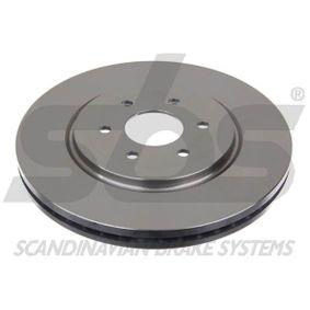 Bremsscheibe Bremsscheibendicke: 28mm, Felge: 6-loch, Ø: 320mm mit OEM-Nummer 402065X01A