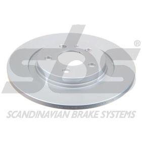 Bremsscheibe Bremsscheibendicke: 12,00mm, Felge: 5,00-loch, Ø: 272mm mit OEM-Nummer 4246P4
