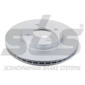 Brake Disc Brake Disc Thickness: 22mm, Rim: 4-Hole, Ø: 258mm with OEM Number 98AG-1125E-A