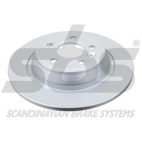 Bremsscheibe Bremsscheibendicke: 11mm, Felge: 5-loch, Ø: 302mm mit OEM-Nummer LR0 27123