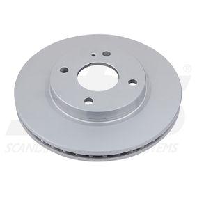Brake Disc Brake Disc Thickness: 23mm, Rim: 4-Hole, Ø: 258mm with OEM Number 1 892 668