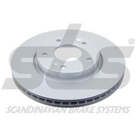 Brake Disc Brake Disc Thickness: 26mm, Rim: 5-Hole, Ø: 280mm with OEM Number S51712 2K100
