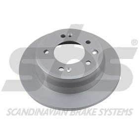 Brake Disc Brake Disc Thickness: 10mm, Rim: 5-Hole, Ø: 262mm with OEM Number 58411 1H300