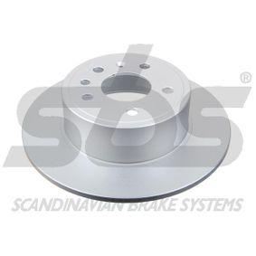 Bremsscheibe Bremsscheibendicke: 10,00mm, Felge: 5,00-loch, Ø: 286mm mit OEM-Nummer 483 702 7