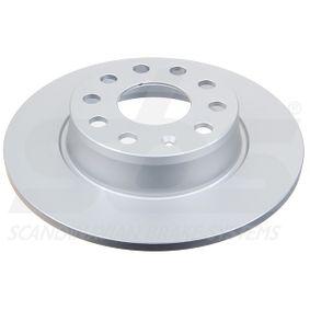 Bremsscheibe Bremsscheibendicke: 10,00mm, Felge: 5,00-loch, Ø: 272mm mit OEM-Nummer JZW 698 601 AF