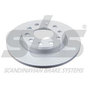 Bremsscheibe Bremsscheibendicke: 12mm, Felge: 5-loch, Ø: 255mm mit OEM-Nummer 8E0 615 601 D