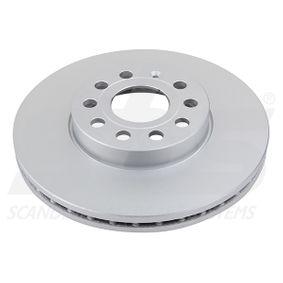 Bremsscheibe Bremsscheibendicke: 25mm, Felge: 5-loch, Ø: 288mm mit OEM-Nummer 5C0 615 301 D