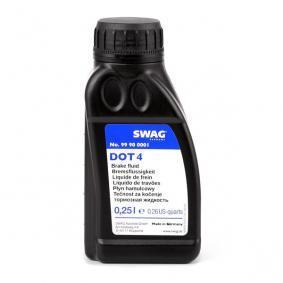 Bremsflüssigkeit für OPEL CORSA C (F08, F68) 1.2 75 PS ab Baujahr 09.2000 SWAG Bremsflüssigkeit (99 90 0001) für