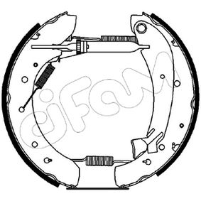 CIFAM Vermontierter kit 151-074 Bremsensatz, Trommelbremse