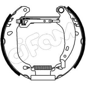 Bremsbackensatz Breite: 42mm mit OEM-Nummer 7701205755