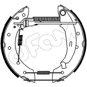 Bremsbackensatz Breite: 38mm mit OEM-Nummer 4241.9 F