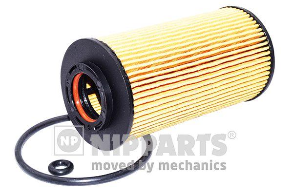 NIPPARTS  J1310306 Ölfilter Ø: 61mm, Innendurchmesser: 25mm, Innendurchmesser 2: 26mm, Höhe: 122mm