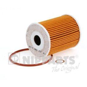 NIPPARTS  J1310904 Ölfilter Ø: 65mm, Innendurchmesser: 20mm, Höhe: 83mm