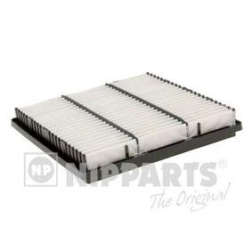 NIPPARTS  J1325020 Filtro aria Lunghezza interna: 201mm, Lunghezza esterna: 226mm, Largh. esterna: 225mm, Alt.: 34mm