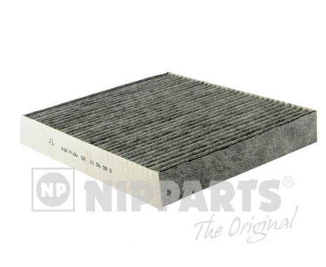 NIPPARTS  J1347000 Szűrő, utastér levegő Hossz: 209mm, Szélesség: 186mm, Magasság: 30mm