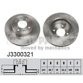 Bremsscheibe Art. Nr. J3300321 120,00€