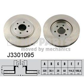 Bremsscheibe Art. Nr. J3301095 120,00€
