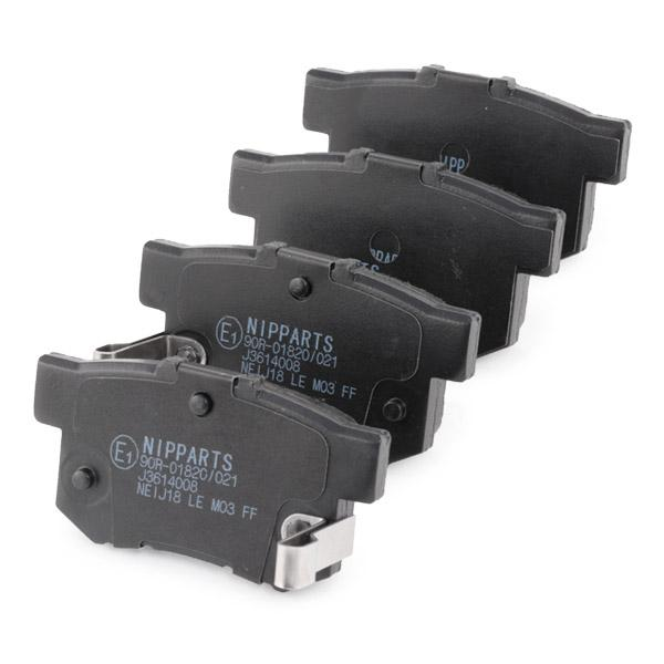 Bremsklötze NIPPARTS J3614008 20100862828848282884