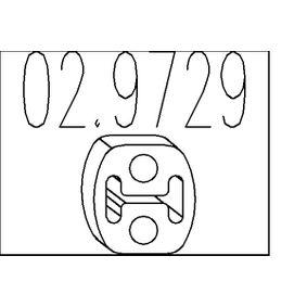 Anschlagpuffer, Schalldämpfer 02.9729 1 Schrägheck (E87) 118d 2.0 Bj 2007