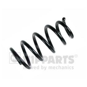 Fahrwerksfeder Länge: 263mm, Dicke/Stärke: 13,75mm, Ø: 119mm mit OEM-Nummer 52441-SWW-E11