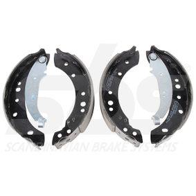 Bremsbackensatz Breite: 38mm mit OEM-Nummer 44 06 017 49R