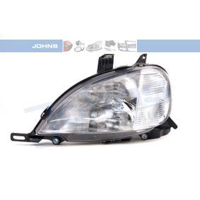 Hauptscheinwerfer für Fahrzeuge mit Leuchtweiteregelung (elektrisch) mit OEM-Nummer 163 820 3761