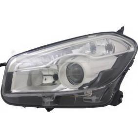 2010 Nissan Qashqai j10 1.6 Headlight 20-12320-05-2