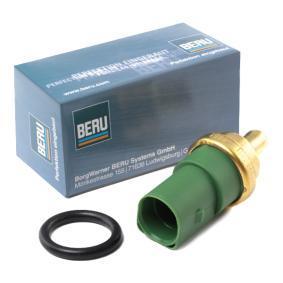 BERU Kühlmitteltemperatur-Sensor ST119 für AUDI A6 (4B2, C5) 2.4 ab Baujahr 07.1998, 136 PS