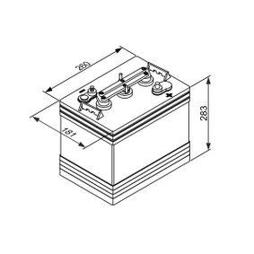 BOSCH  0 092 L50 G20 Versorgungsbatterie