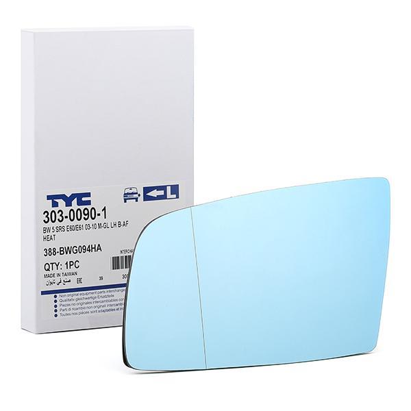 Außenspiegelglas 303-0090-1 TYC 303-0090-1 in Original Qualität