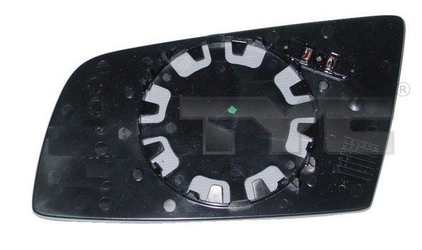 Spiegelglas, Außenspiegel TYC 303-0090-1 8717475050950