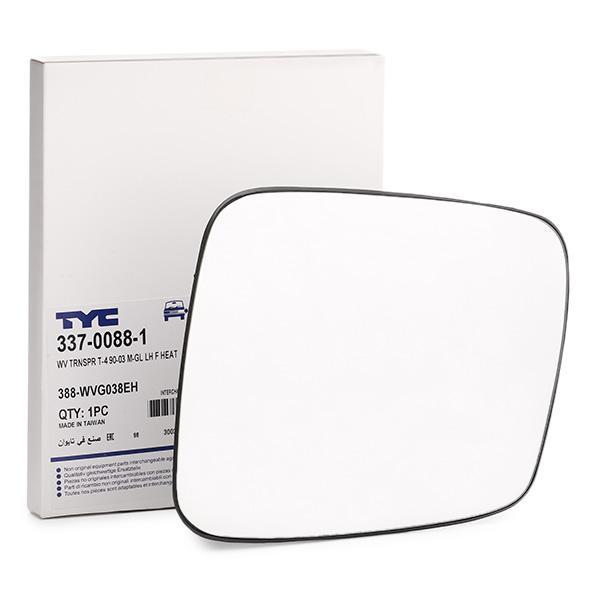 Außenspiegelglas 337-0088-1 TYC 337-0088-1 in Original Qualität