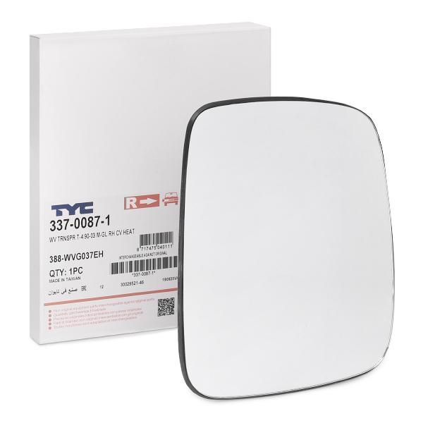 Außenspiegelglas 337-0087-1 TYC 337-0087-1 in Original Qualität