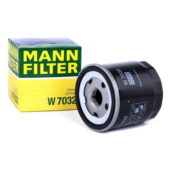 Filtro de Óleo MANN-FILTER W7032 conhecimento especializado