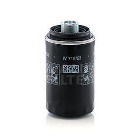 Ölfilter Ø: 76mm, Innendurchmesser 2: 49mm, Innendurchmesser 2: 57mm, Höhe: 143mm mit OEM-Nummer 06J 115 403 L