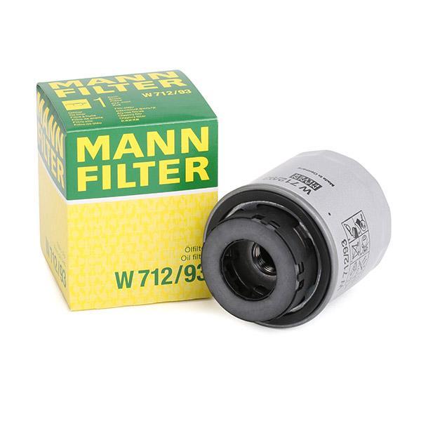 Filter MANN-FILTER W712/93 Erfahrung