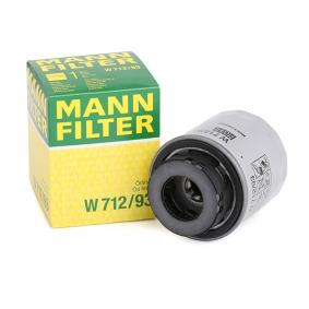 MANN-FILTER W712/93 ειδική γνώση