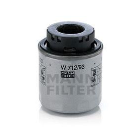 MANN-FILTER W712/93 EAN:4011558041373 Κατάστημα σε απευθείας σύνδεση
