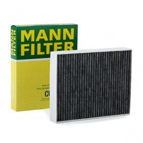 Filter, Innenraumluft Länge: 248mm, Breite: 198mm, Höhe: 41mm mit OEM-Nummer 64116821995