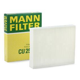 Filter, Innenraumluft Länge: 248mm, Breite: 198mm, Höhe: 41mm mit OEM-Nummer 64119237554