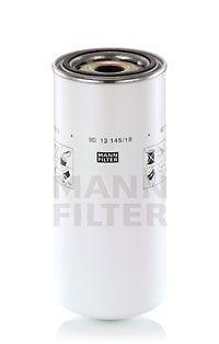 MANN-FILTER  WD 13 145/18 Ölfilter Ø: 136mm, Außendurchmesser 2: 111mm, Innendurchmesser 2: 101mm, Innendurchmesser 2: 101mm, Höhe: 302mm