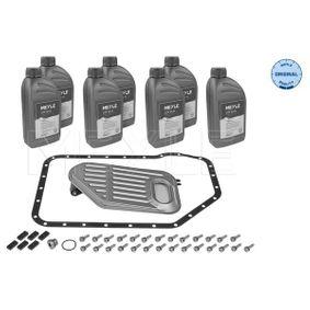 Teilesatz, Ölwechsel-Automatikgetriebe VW PASSAT Variant (3B6) 1.9 TDI 130 PS ab 11.2000 MEYLE Teilesatz, Ölwechsel-Automatikgetriebe (100 135 0001) für