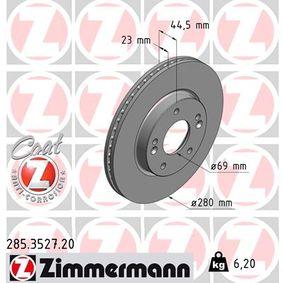 Bremsscheibe Art. Nr. 285.3527.20 120,00€